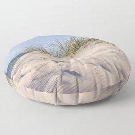 Bornholm Island Sea View Floor Pillow