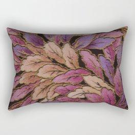 Coloured Leaves Rectangular Pillow