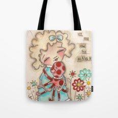 Best Hugger - Octopus Hugs Tote Bag