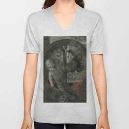 Wheel of the Despicable s Unisex V-Neck