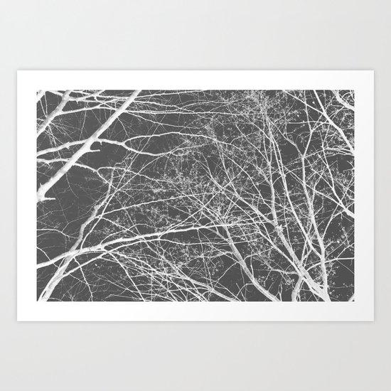 Negative 2 Art Print