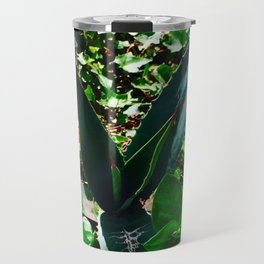 Aloe Vera at the top of Mount Monserrate in Bogota, Colombia Travel Mug