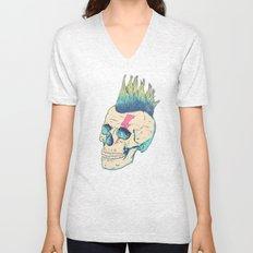 Skull Punk Unisex V-Neck