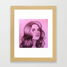 God Knows I Tried Framed Art Print
