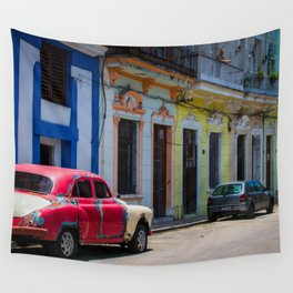 Colors of the Rainbow Wall Tapestry