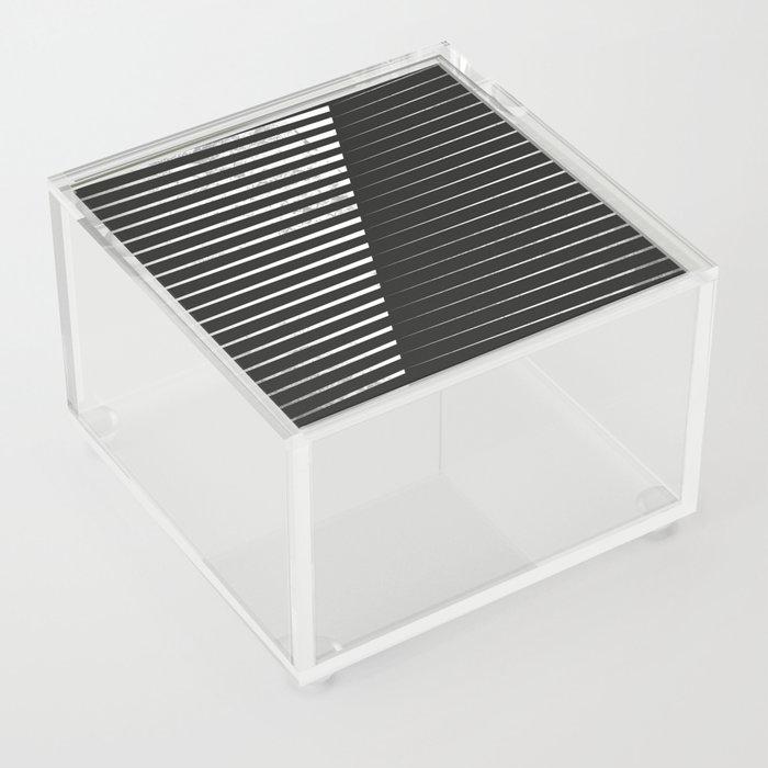 Black vs. White Acrylic Box