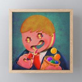 sweetheart Framed Mini Art Print