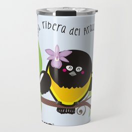 Yo nací en una ribera del Arauca vibrador Travel Mug