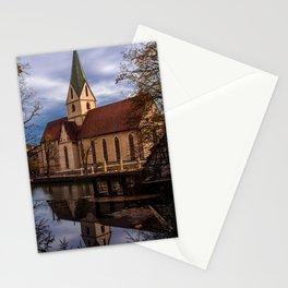 Monastery church of Blaubeueren Stationery Cards