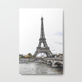 La Tour Eiffel Metal Print