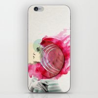 bright iPhone & iPod Skins featuring Bright Pink  by Jenny Liz Rome