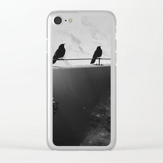 IN SEARCH OF... Clear iPhone Case