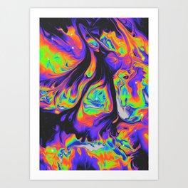 SOLEIL D'HIVER Art Print