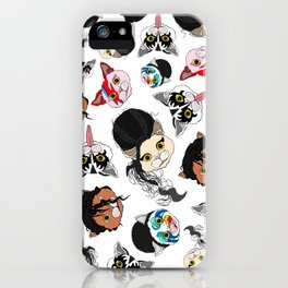 Pop Cats iPhone Case
