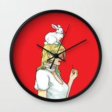 Fragile Girl Wall Clock