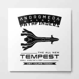 The All New Tempest Metal Print