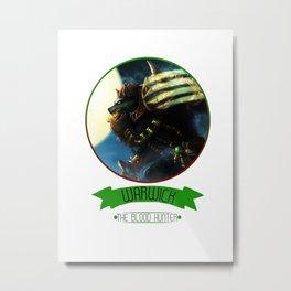 League Of Legends - Warwick Metal Print