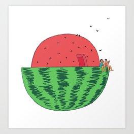 Summer Retreat Art Print