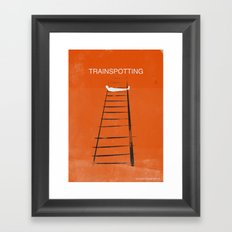 Trainspotting Framed Art Print