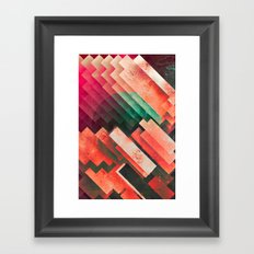 cylyr fyylds Framed Art Print
