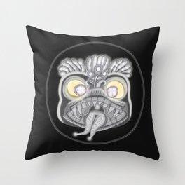 Panic Throw Pillow