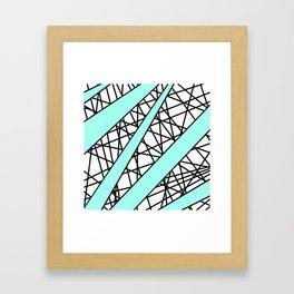 Lazer Dance T Framed Art Print