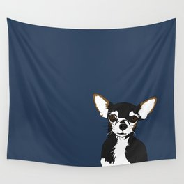 Zoe the Chihuahua Wall Tapestry