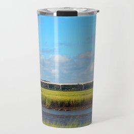 Seaside To Mainland Bridge Travel Mug