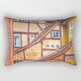 Scandinavian Architecture. Rectangular Pillow