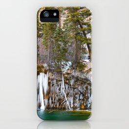 Hanging Lake Winter iPhone Case