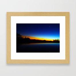 Sonoran Desert Sunset Framed Art Print