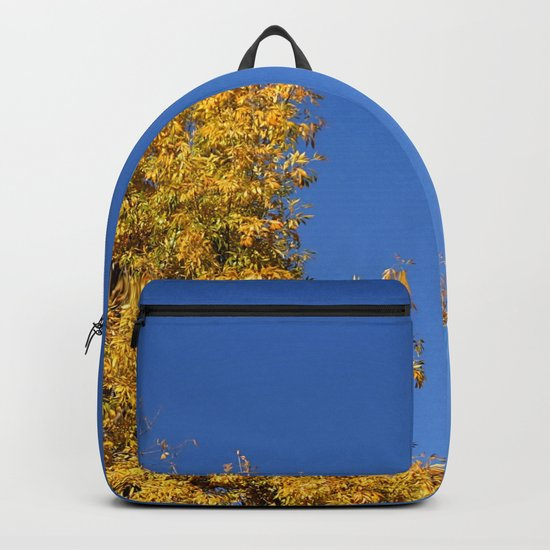 Yellow Autumn Tree Backpack