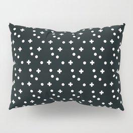 Dots & Crosses Pillow Sham