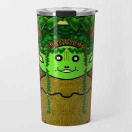 Gnomelorian stand for happy rights in natures color pop-art Travel Mug