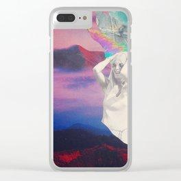 Hallucinogen Clear iPhone Case