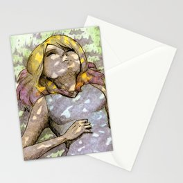 Nap Under The Tree Stationery Cards