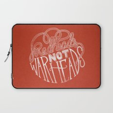 Redheads Not Warheads Laptop Sleeve