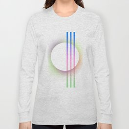 """ Soft Circle"" scandinavian geometric minimalist Long Sleeve T-shirt"