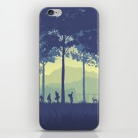 stand by me iPhone & iPod Skins featuring Stand By Me by Ape Meets Girl