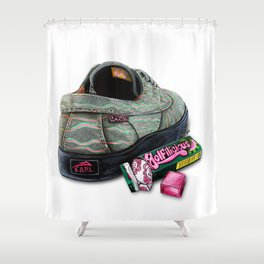 Lakai X Earl + Golfilicious Shower Curtain