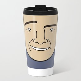 Faces of Breaking Bad: Saul Goodman Metal Travel Mug