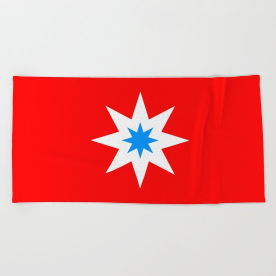 Lucky Star Beach Towel