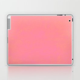 pink coral red color trend plain texture Laptop & iPad Skin