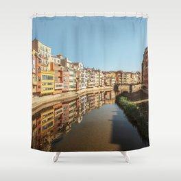 Colorful Girona Shower Curtain