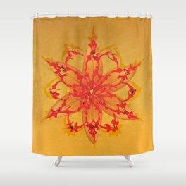 MANDALA NATURE_2 Shower Curtain