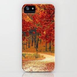 Autumn Landscape 1 | Paysage d'Automne 1 iPhone Case
