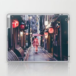 Geisha In Kyoto Laptop & iPad Skin
