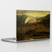 train Laptop & iPad Skins featuring train by MartaSyrko