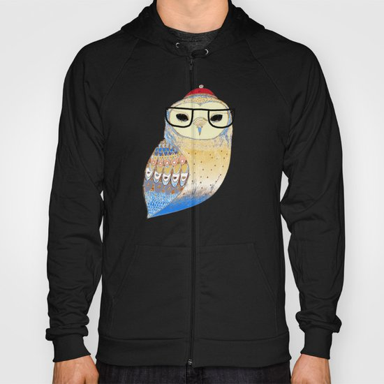hipster owl Hoody