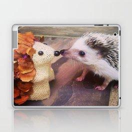 Juni Hedgehog Kissing Laptop & iPad Skin